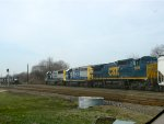 CSX 7808, 6072, and 8552